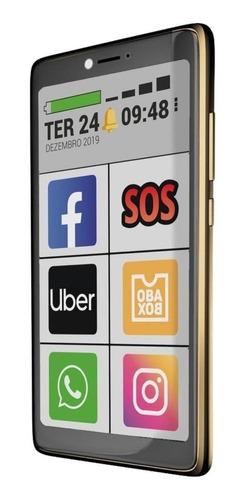 Imagem 1 de 4 de Obabox ObaSmart 3 Dual SIM 32 GB ouro 1 GB RAM