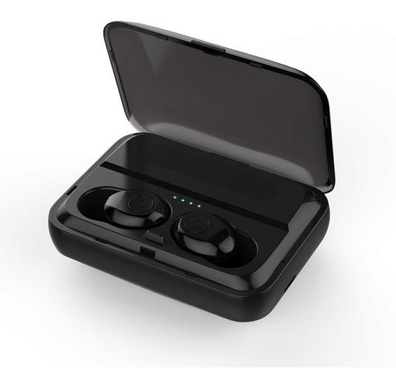 Fones De Ouvido Sem Fio Bluetooth F9 Tws Preto