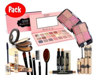 Pack De Maquillaje Completo Flower Secret Aicboutique