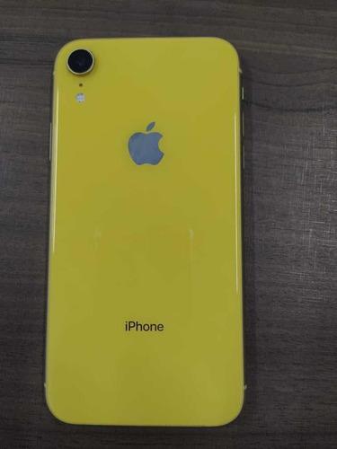 iPhone XR 128gb Amarelo Usado -praticamente Novo