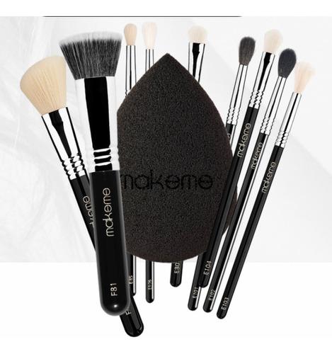 Imagem 1 de 1 de Kit Profissional Para Maquiagem Black Edition
