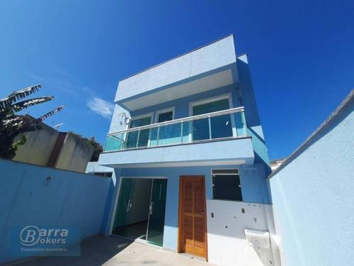 Casa Com 3 Dormitórios À Venda, 170 M² Por R$ 799.000,00 - Freguesia - Rio De Janeiro/rj - Ca0898
