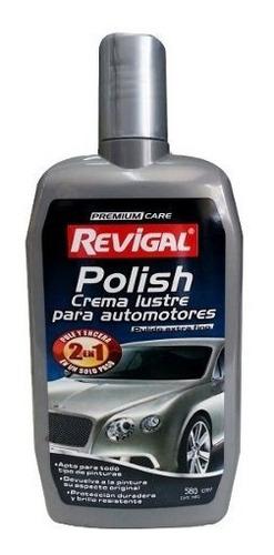 Cera Auto Polish Pule Lustra Brillo Intenso Revigal 580cm3
