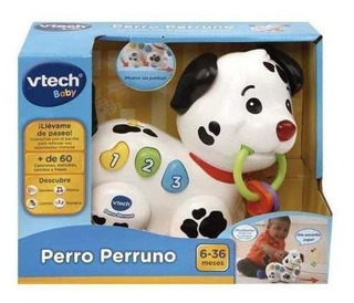 Vtech Juguete Bebes Perro Perruno Didactico Interactivo Cuot