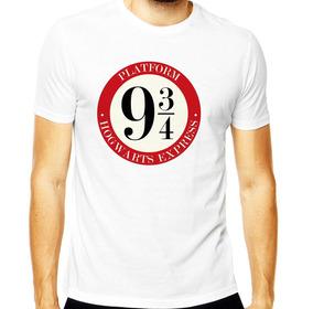 Camiseta Camisa Hogwarts Plataforma 9 ¾ Harry Potter Geek