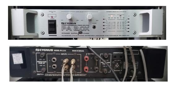 Amplificador Cygnus Pa 2.0 Prata