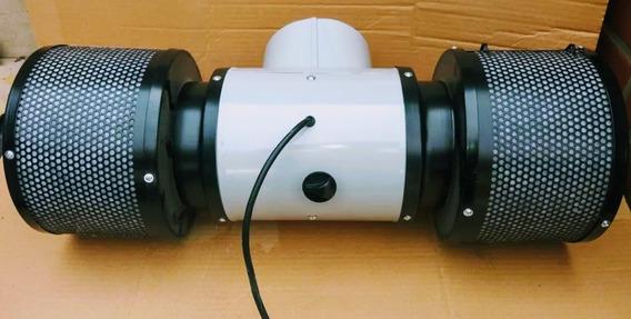 Extractor Doble Turbina 6 P. 3 Vel. Indoor Grow Mejor Precio