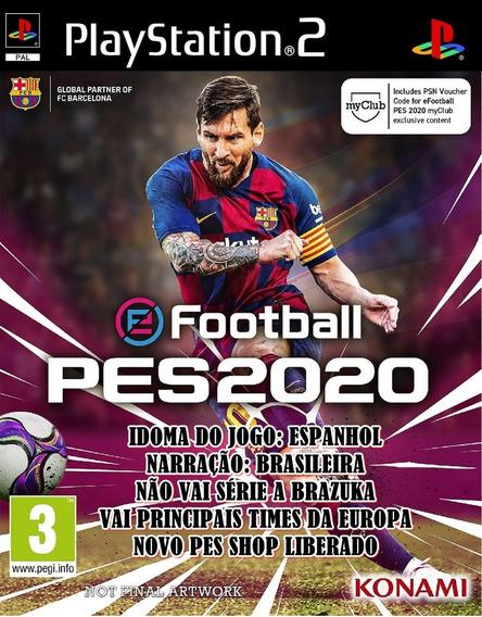 Pes 2020 Edição Especial Ps2 Game