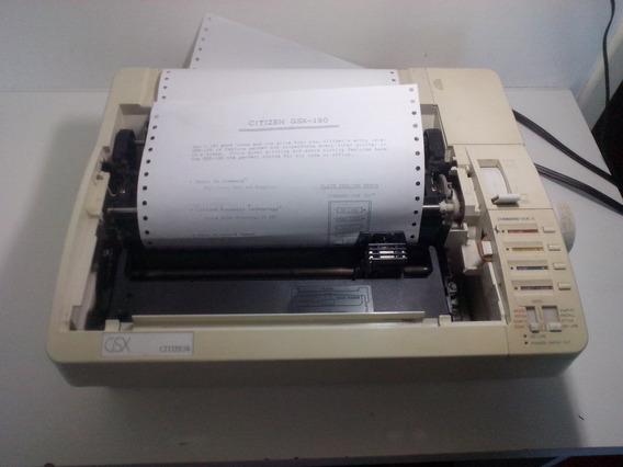 Impressora Matricial Citizen Gsx 190 (sem Tampa)