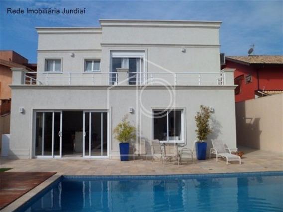 Casa A Venda De Alto Padrão Em Condomínio Fechado No Bairro Chácara Malota Em Jundiaí - Ca00868 - 1697441