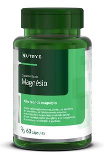 Suplemento De Magnésio 60 Cápsulas