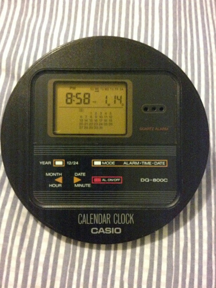 Reloj Despertador Y Calendario Casio
