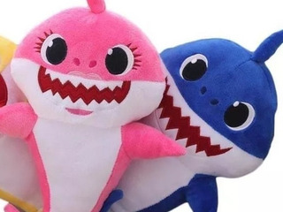 2 Baby Shark Azul Y Rosa
