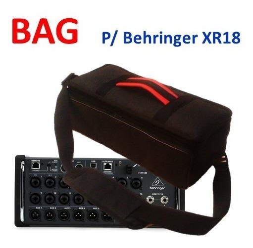 Bag - Mesa De Som Digital Behringer Xr18 - Xr16