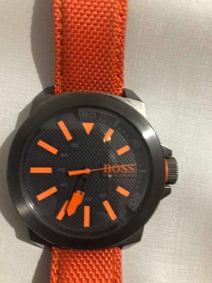 Relógio Hugo Boss Nylon Laranja