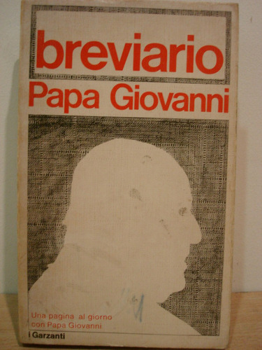 Breviario Papa Giovanni Italiano Documentos Concilio Vatican