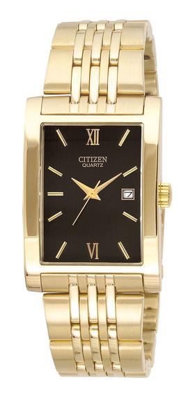 Relógio Citizen Bh1372-56e Dourado Masculino