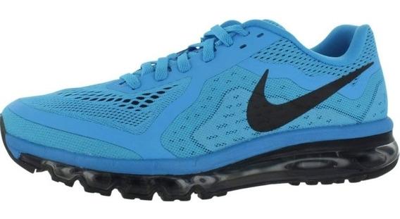 Tênis Nike Air Max 2014 Azul/preto Original