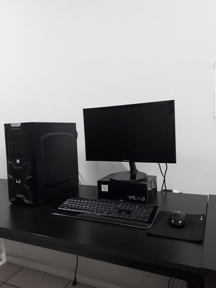 Computador Core I5 8400/hd Ssd 480gb/pl.vídeo Radeon Rx 570