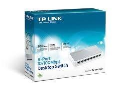 Hub Switch 8 Portas Tp-link Tl-sf1008d 10/100 Mbps