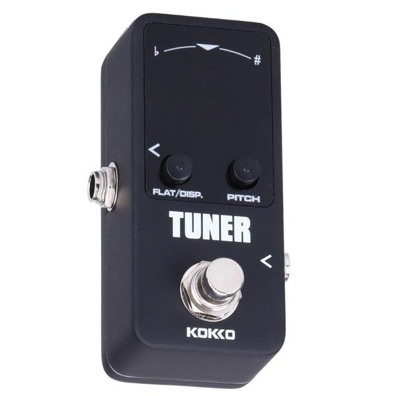 Pedal Kokko Ftn2 Mini Tuner Afinador Para Guitarra O Bajo