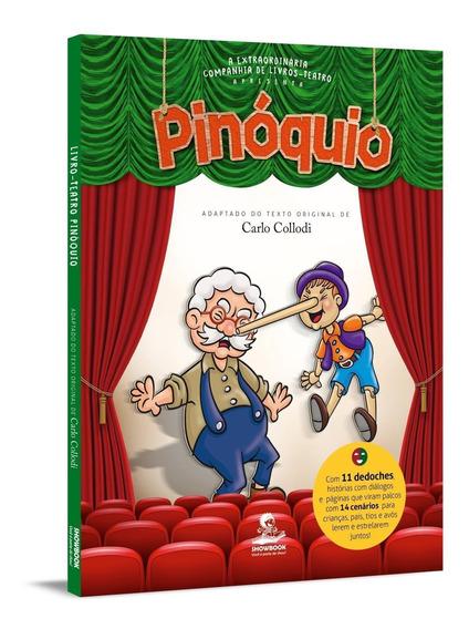 Pinóquio - Livro-teatro Com Dedoches E Cenários