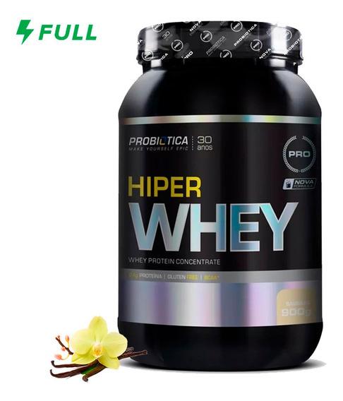 Hiper 100% Whey Protein Concentrado (900g) Probiótica