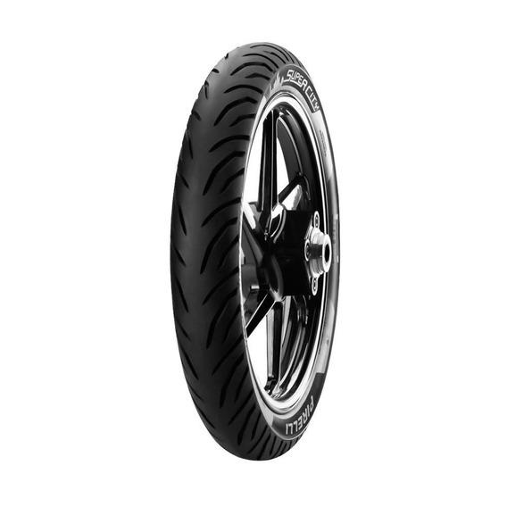 Pneu Para Moto Pirelli 80/100-14 M/c 49l Aro14traseiro