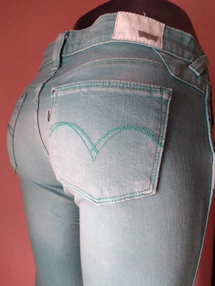 Levis Pantalón Sexy Skinny Levanta Pompa Talla 7 Original