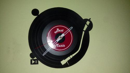 Disco De Vinilo Toca Disco   Arte Decoracion