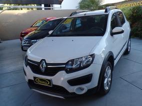 Renault Sandero Stepway 2015/2016 1.6 Completo Branco