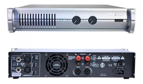 Tecshow Apx Ii 1200 Amplificador Potencia Dj Power