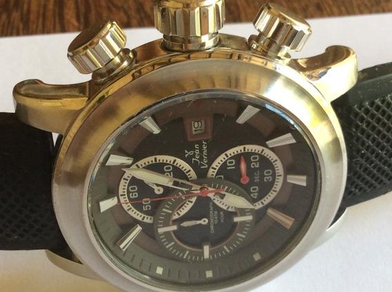 Relógio Lindão Jean Vernier Original 45mm De Caixa Seminovo