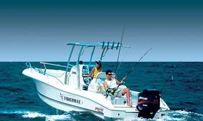 245 Focker Fisherman (pesca) C/2 Mercury 100 Hp 4 Tempos