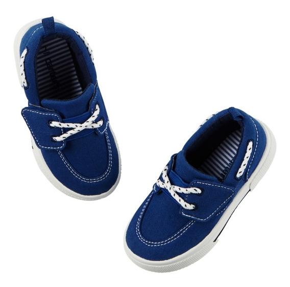 Zapatos Náuticos Carters Lona