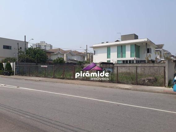 Terreno Para Alugar, 320 M² Por R$ 3.000,00/mês - Urbanova - São José Dos Campos/sp - Te1145