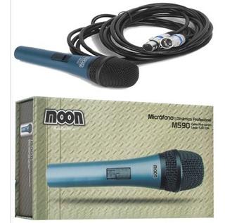 Micrófono Profesional Moon M590 Cuerpo Metálico Dist Oficial