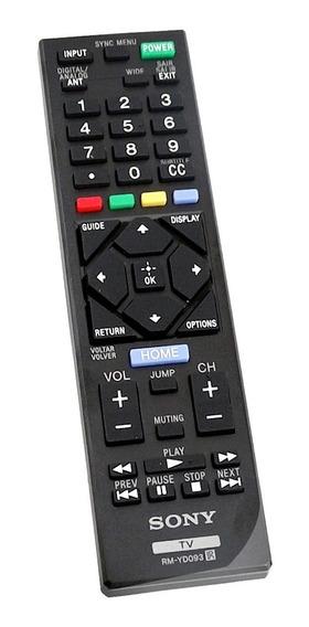 Controle Remoto Original Sony Rm-yd093 Smart Tv Brav-bb12