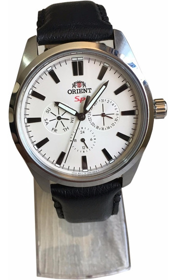 Relógio Orient Masculino Quartzo Aço Grande Original Nf