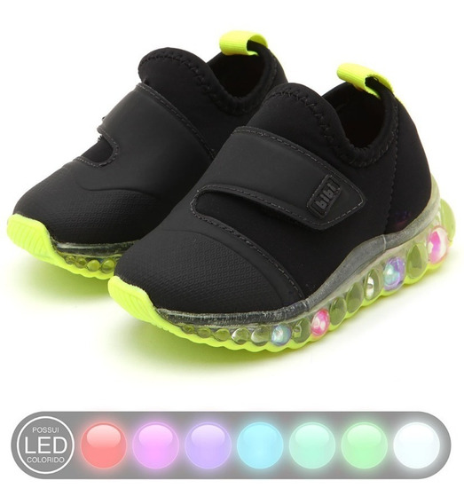Zapatillas Con Led Luces Bibi Originales 22/32 Art 1079025