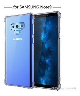 Estuche Galaxy Note 9 Crystal Shell Bumper Transparente