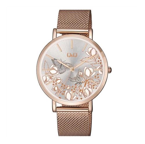 Reloj Qyq Malla Dama Qa21j041y 100% Original
