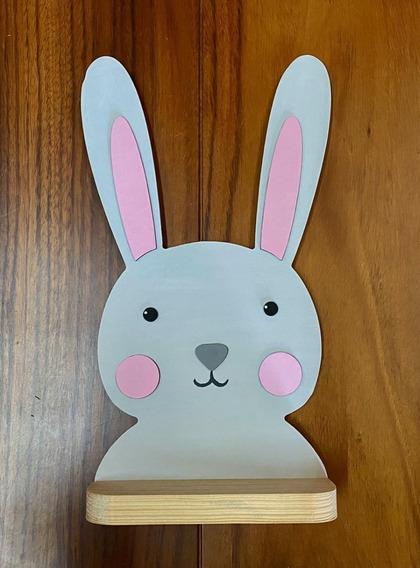 Repisa Conejo Decoración Casa Hogar Recamara