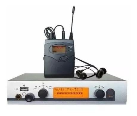 Retorno Monitor Palco Sem Fio Ew300 Para Músicos Exigentes