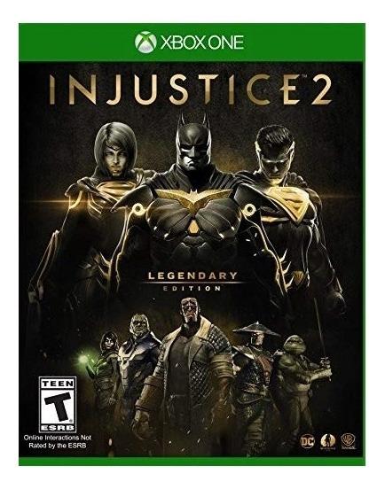 Injustice 2 Legendary Edition Xbox One Mídia Física Novo