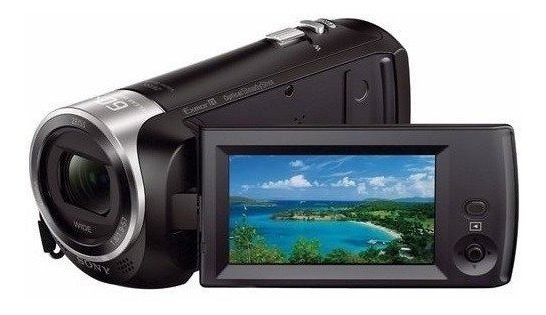 Filmadora Sony Hdr-cx455, Z 30x Full Hd + Cartão 32gb + Nf-e