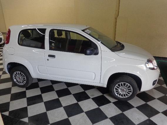 Fiat Uno Vivace Branca 2014/2014 Flex Mec