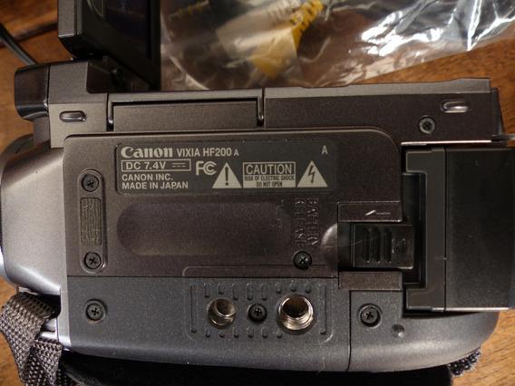 Filmadora De Mao Canon Vixia Hf200