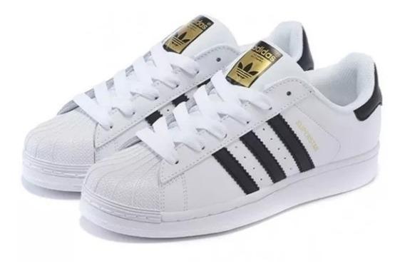 Tênis adidas Superstar Branco Classico Original. Em Oferta