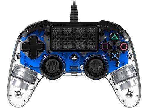 ..:: Control Alambrico Ps4 Led Azul ::.. Playstation 4